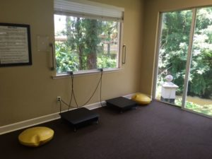 Workout space at Dr. Terri Dee's Offices