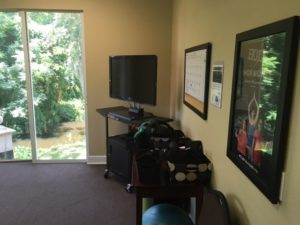 Space for Chiropractic Adjustments at Dr. Dee's