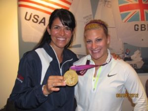 Dr. Dees with 2012 and 2016 Olympic Judo Gold Medalist Kayla Harrison